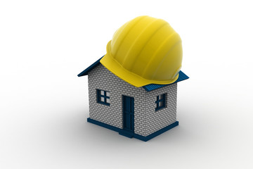 safety helmet use for construction home
