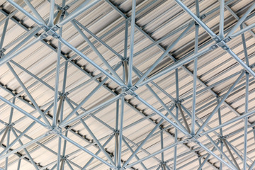 Design of steel roof , background
