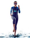 woman triathlon ironman swimmers athlete