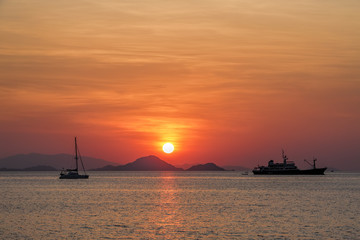 Sunset on Flores