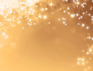 abstract gold sparkle background