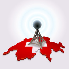 Swiss antenna