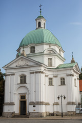 Nuns of the Holy Sacrament church in Warsaw