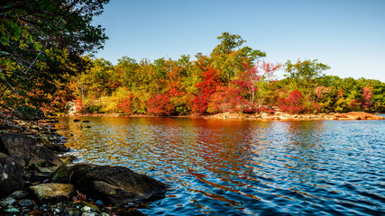 Colors of fall in New England