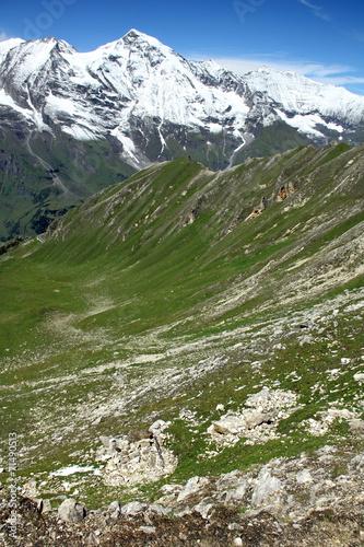 canvas print picture Alpenbild
