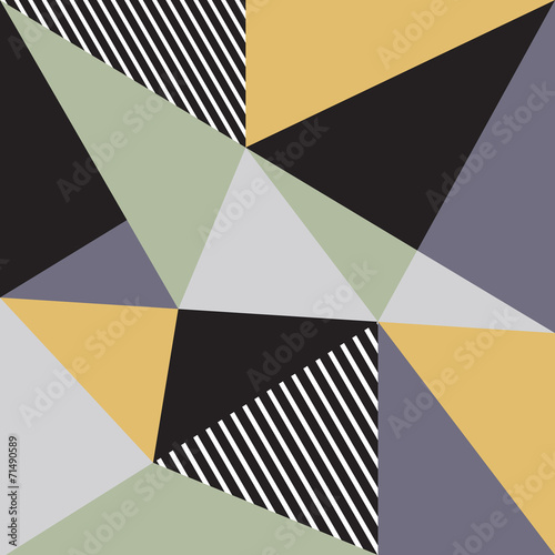Abstract background with triangles - 71490589
