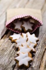 Zimtsterne, Weihnachten, Plätzchen