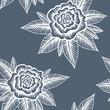 Obrazy na płótnie, fototapety, zdjęcia, fotoobrazy drukowane : Floral Seamless Pattern