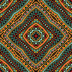 Bright Tribal Seamless Pattern