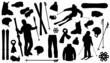 allski silhouettes - 71491584