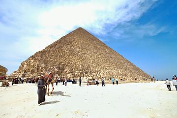 Aegypten, Giseh, Cheopspyramide