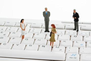 Geschäftsleiter für EDV Tastatur