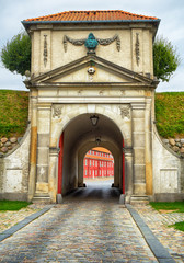The King's Gate of Kastellet fortresses in Copenhagen.
