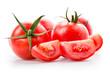 canvas print picture - Frische Tomaten