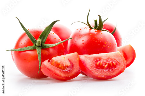 canvas print picture Frische Tomaten