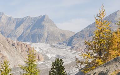 Riederfurka, Riederalp, Alpen, Aletschgletscher, Schweiz