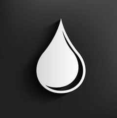 Oil symbol on background,clean vector