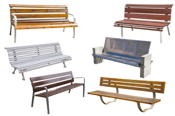 Collection of benches.