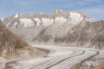 Bettmeralp, Dorf, Aletschgletscher, Alpen, Gletscher, Schweiz