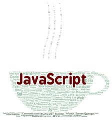 JavaScript word cloud shape