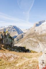 Riederalp, Dorf, Aletschji, Aletsch, Schweizer Alpen, Herbst