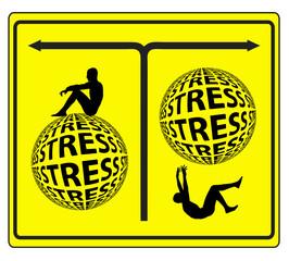 Stress Management Concept Sign