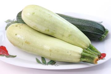 grüne auberginen
