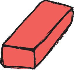doodle red brick