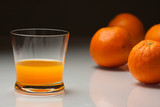 Fotoroleta orange juice