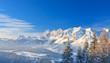 canvas print picture - Mountain landscape. Schladming. Austria