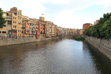 Girona historic city in Catalonia