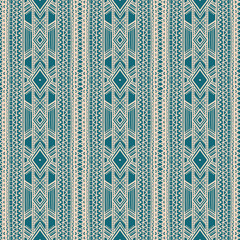 tribal beige and green pattern
