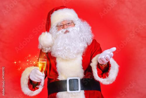 Leinwanddruck Bild fair santa