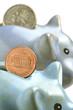 Piggy bank Κουμπαράς Копилка Salvadanaio Cochon tirelire