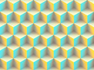 Seamless 3d pattern