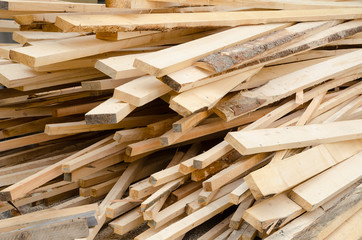 Background of stack wood boards