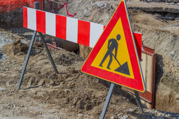 construction works in street