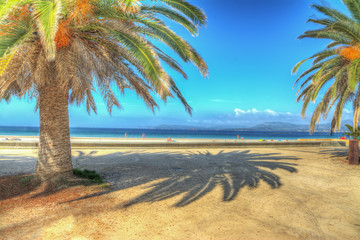 hdr seafront
