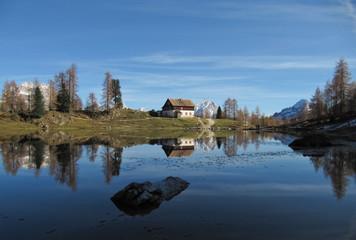 Reflection on Dolomiti