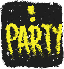 doodle party icon