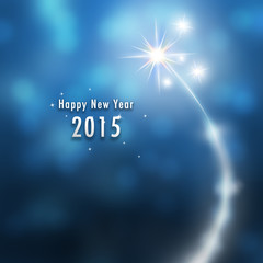 New Year illustration background