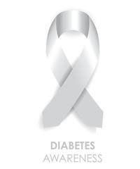 diabetes awareness ribbon