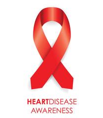 heart disease ribbon