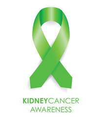 kidney cancer awareness ribbon