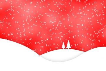 Xmas winter snowflake background
