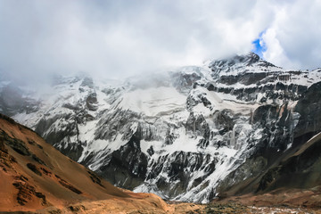 The highest mountain in South America, Aconcagua