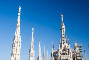 Milan Dome: the most important landmark of the Expo 2015 city.