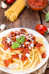 Macaroni and Tomato Sauce