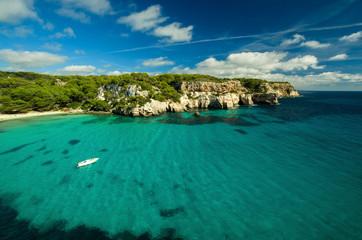 Cala Macarella, Menorca, España