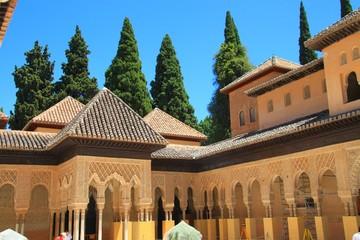 Sala de los abencerrajes, Alhambra, Grenade